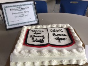 Library cake 2016